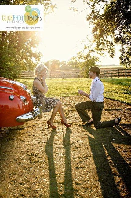 Marriage proposal from my sweetie, Benjamin Barnes