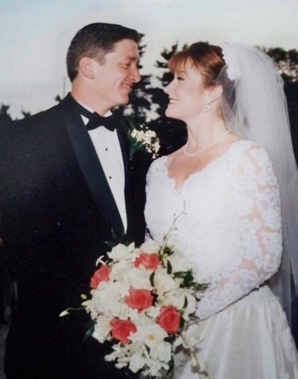 Our Wedding Day Sept 27, 1996