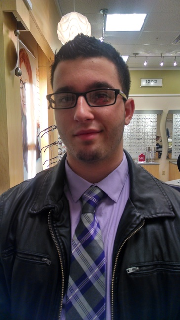 My boy, Brandon, looking great for work!