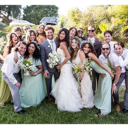 Beautiful Sunny California San Diego Wedding